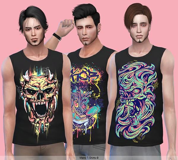 Tatius. Mens T-Shirts-9