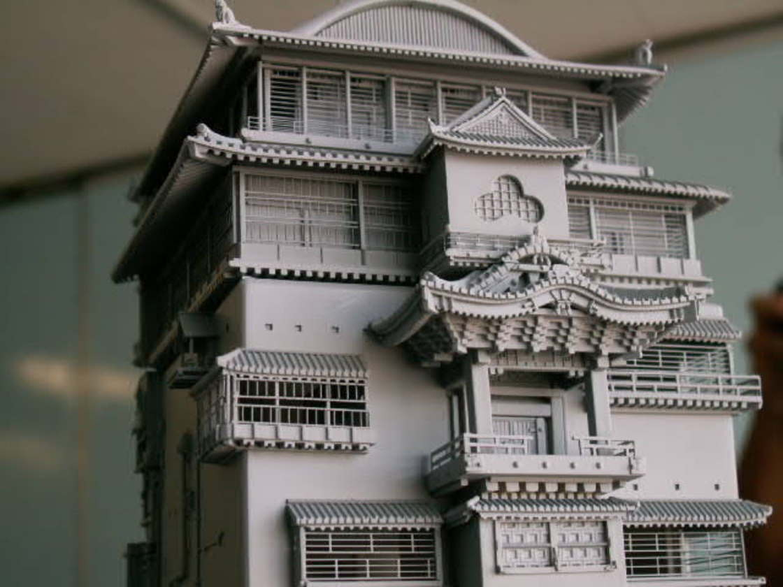 Chihiro - Un fan de Miyazaki recree le palais des bains avec une maquette impressionnante
