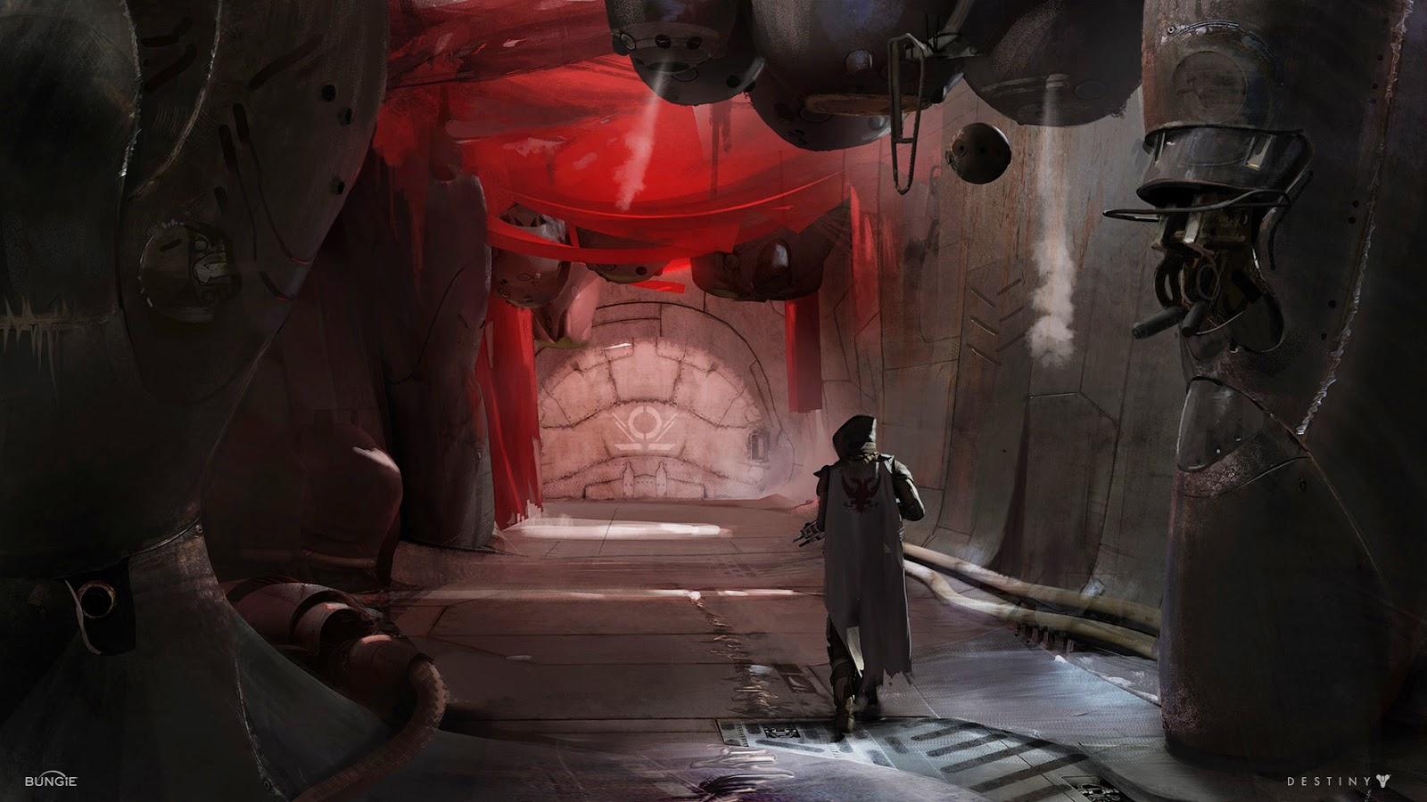 Destiny Concept Art by Ryan DeMita