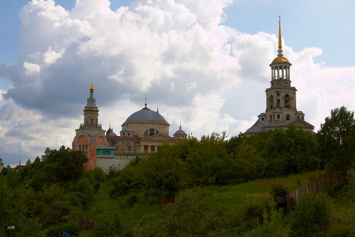 Торжок - Борисоглебский монастырь