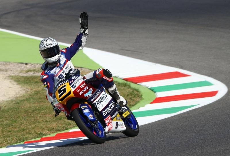 Романо Фенати остаётся в команде Snipers, но будет выступать в чемпионате Moto2 2018