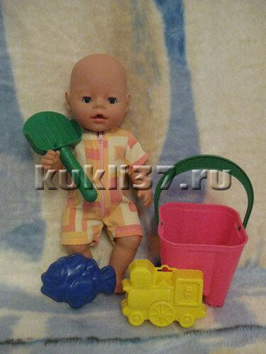 песочник  для Baby Born