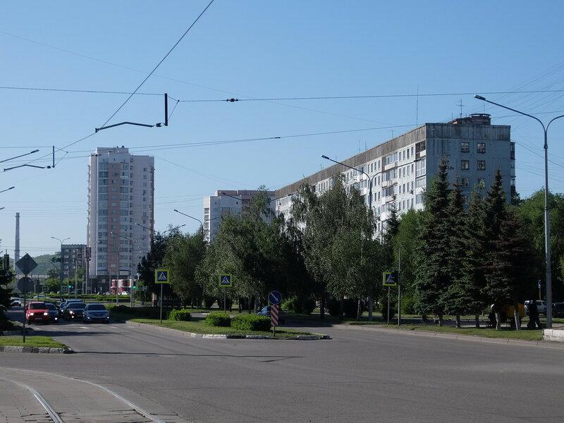 Проспект Кузнецкстроевский - Новые дома