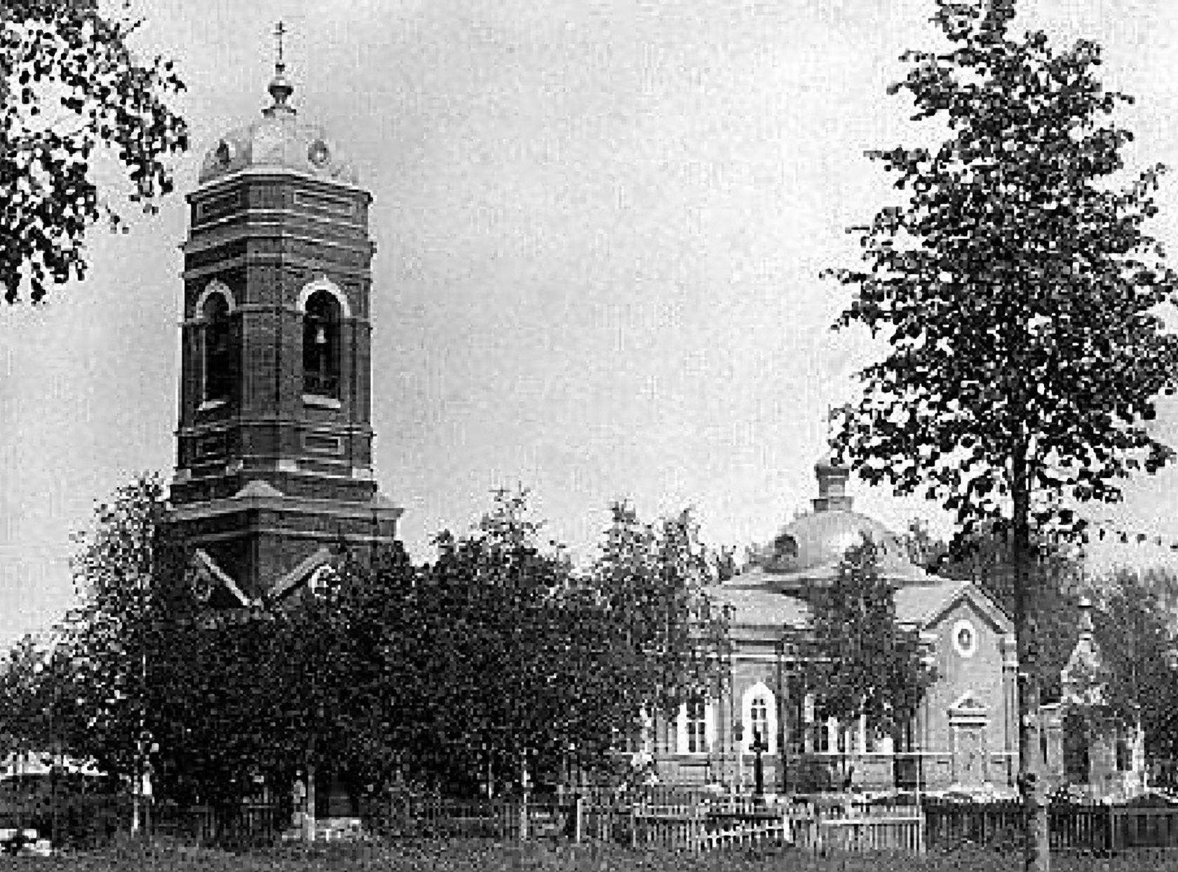 Церковь Всех Святых на Напольном кладбище