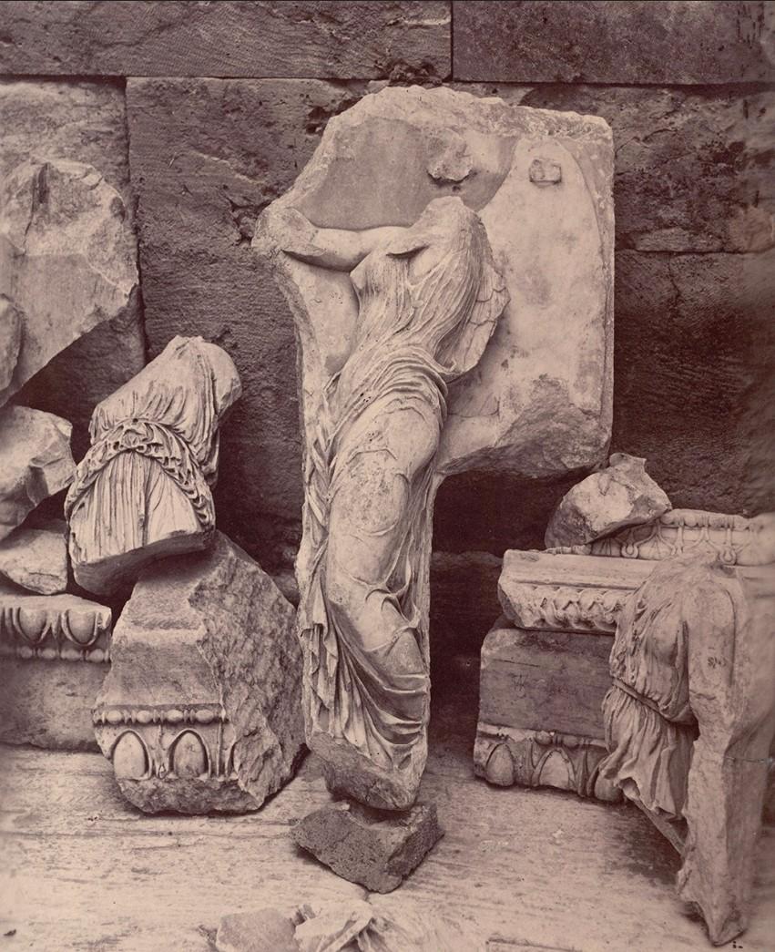 Акрополь. Фрагменты фриза (V в. до н.э.)