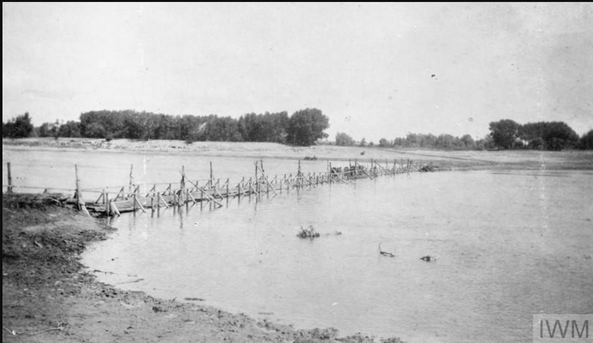 Мост через реку Дон, лето 1919