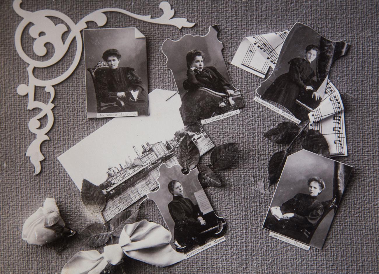 10. Надежда Востокова, Зинаида Денисова, Екатерина Колокольцова, Мария Архангельская, Наталья Князевская