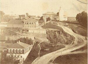 Дорога в Татарскую слободу к Дворцовой мечети. 1900-е