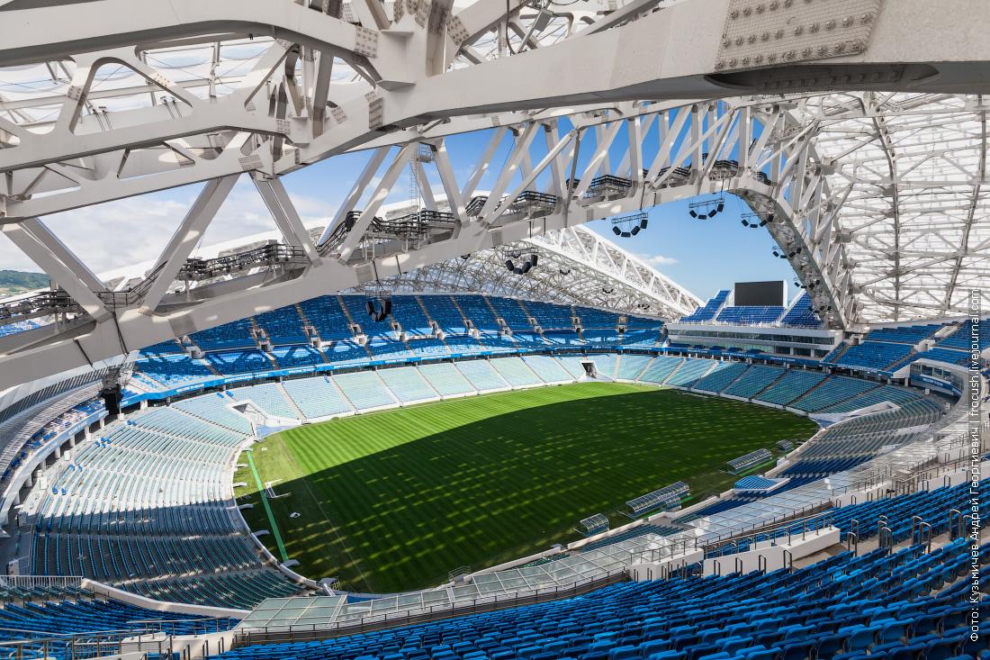стадион фишт фотография с высоты