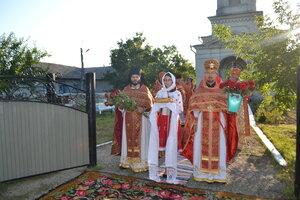 Slujba aniversară din satul Bisericani