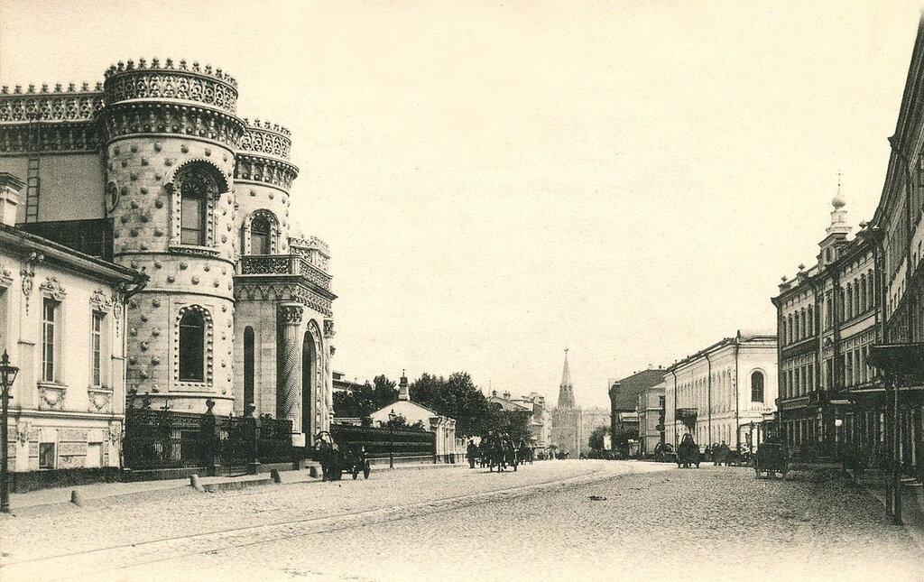 Улица Воздвиженка, 1901 год