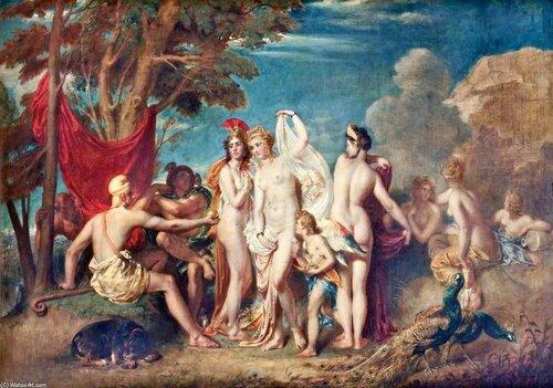 William Etty; Суд Париса