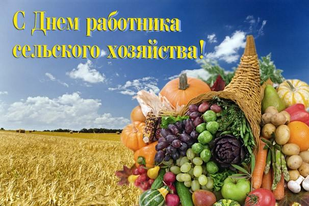 С Днем работников сельского хозяйства. Дары природы