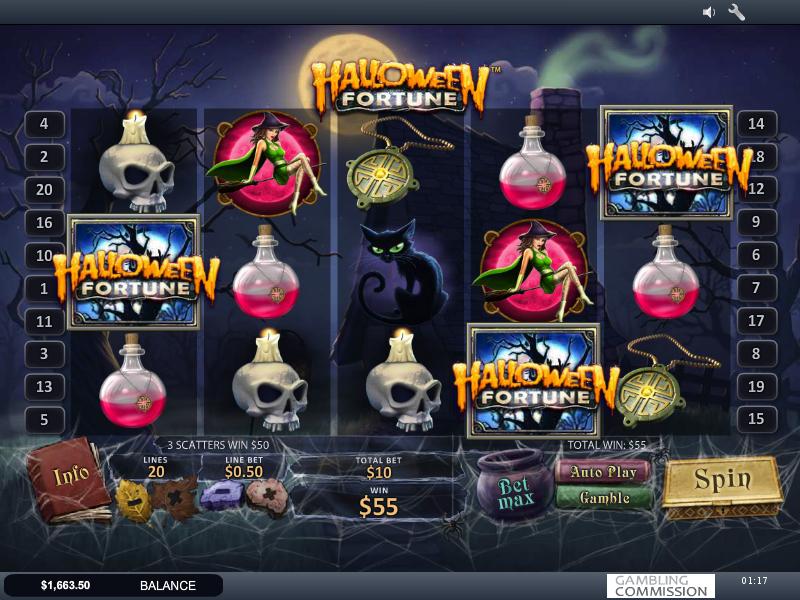 Halloween Fortune игровой автомат бесплатно и на деньги