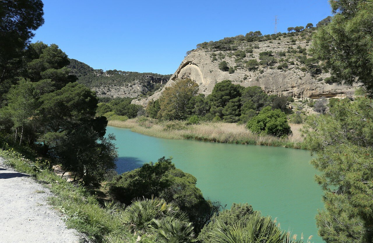 El Chorro. Caminito del Rey (King's path). Northern checkpoint