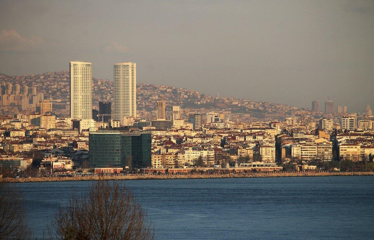 Istanbul. Sunset over the Bosphorus
