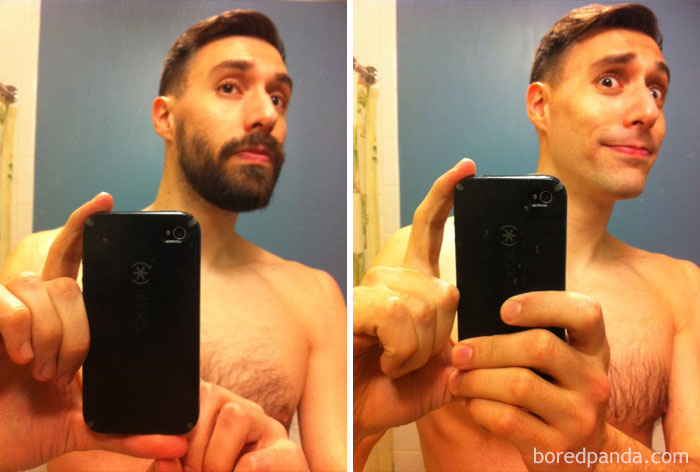 «Это была ошибка. Я отращу бороду снова и буду носить ее с гордостью».