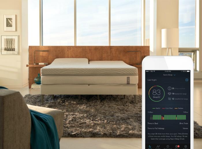 Кровать нового поколения 360 SmartBed. Новинка от компании Sleep Number, как и ее предшественник, сп