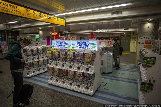 © Александр Беленький/livejournal  Япония— страна роботов иавтоматов. Машины заменяют людей