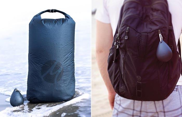 Рюкзак для любителей купаться. Нужен супер легкий водонепроницаемой мешок-рюкзак для переноски самых