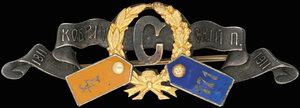 Дамский знак Кобринского полка
