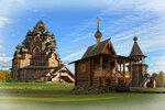 Покровская церковь. Правый берег Невы.