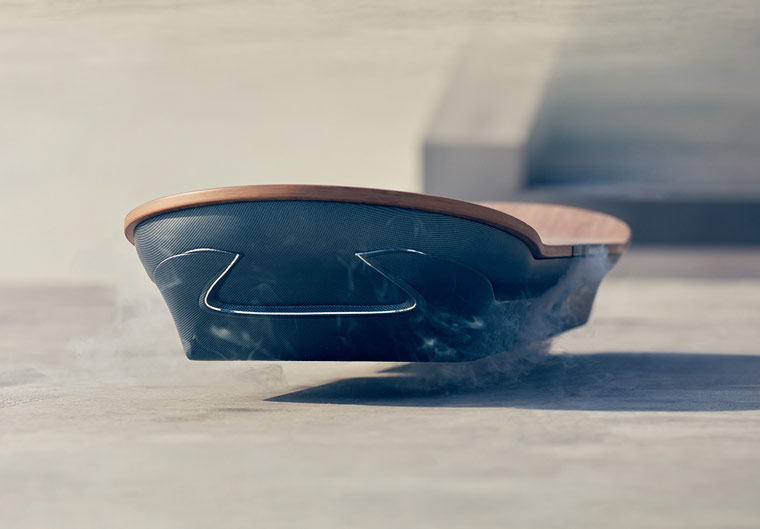 Hoverboard - The flying skateboard by Lexus