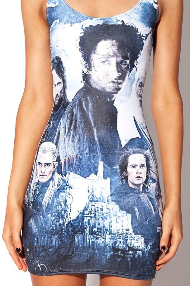 Lord of the Ring VS. Black Milk - The 2013 collection