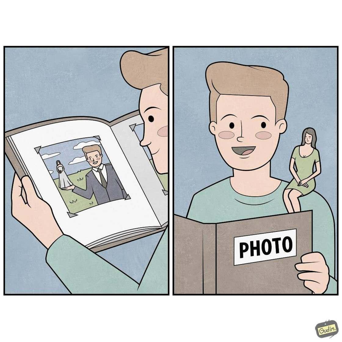 Life is Weird - The new sarcastic illustrations by Anton Gudim