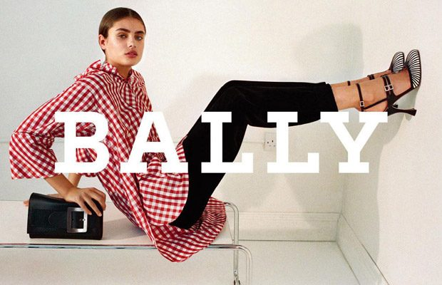 Top Model Taylor Hill is the Face of New BALLY Collection (8 pics)