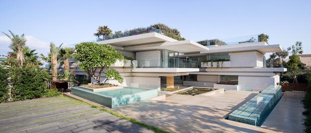 Villa Kali in Lebanon by BLANKPAGE Architects + Karim Nader Studio
