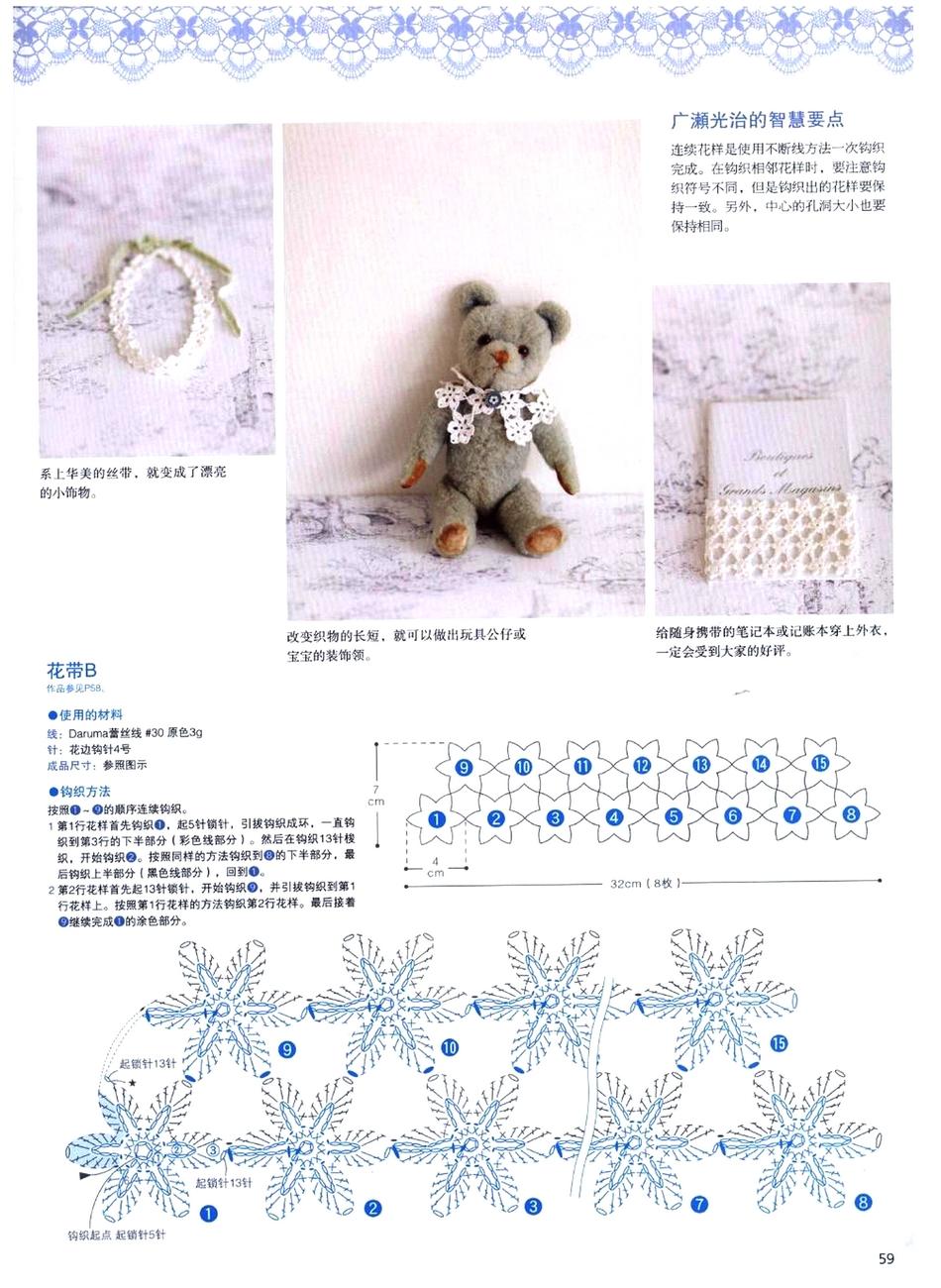 Lace Cafe Crochet Vol.2 №668