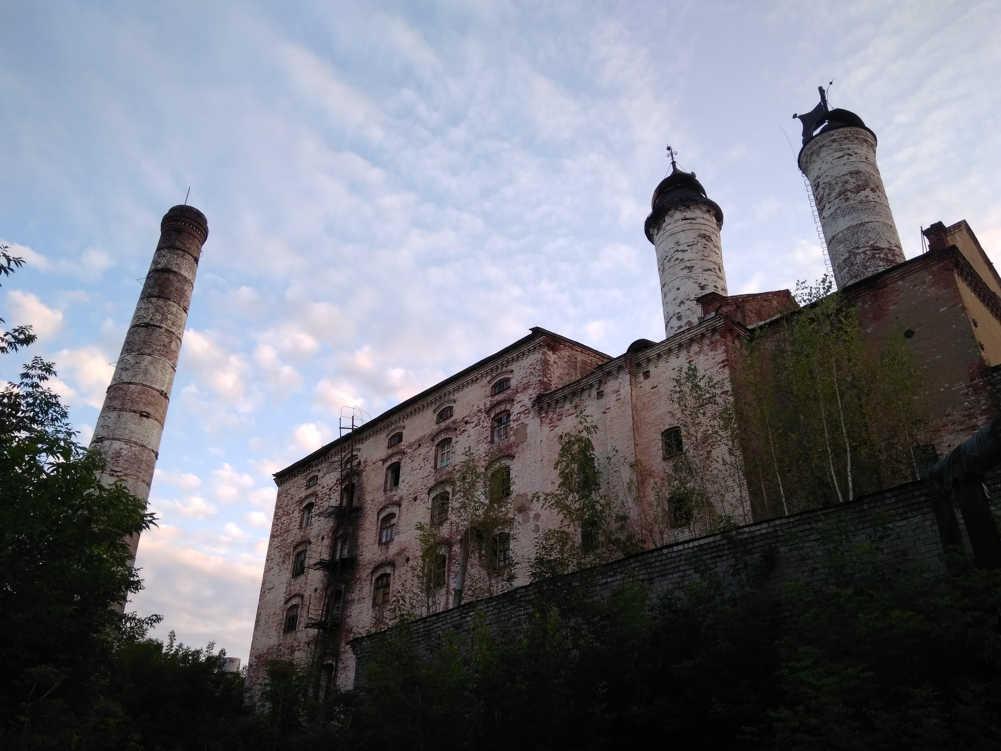 Здание Слободского пивоваренного завода