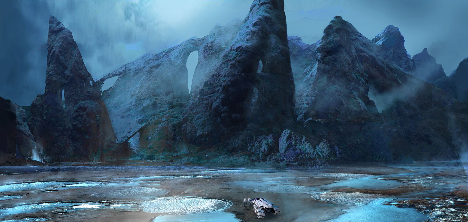 BioWare releases New Mass Effect 4 Concept Art (7 pics)