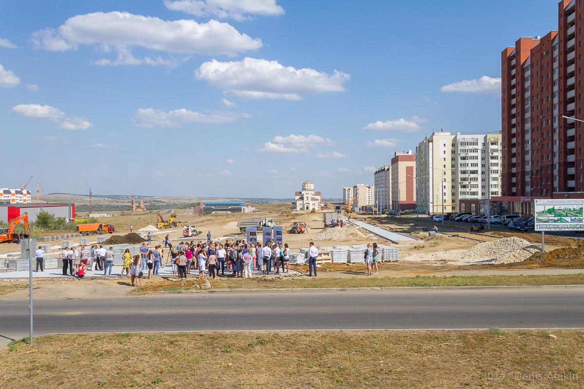 строительство бульвара в Солнечном-2 фото 3