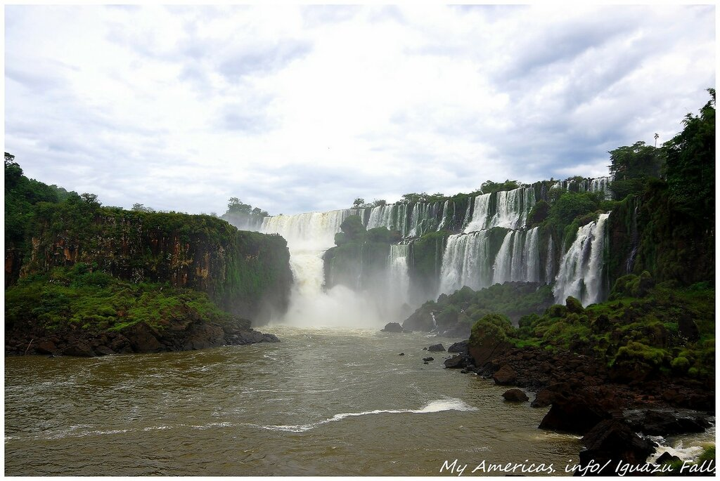 Игуасу. Бразилия.