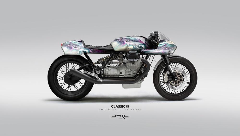 Хуан Мигель Орга: концептальные зарисовки Moto Guzzi