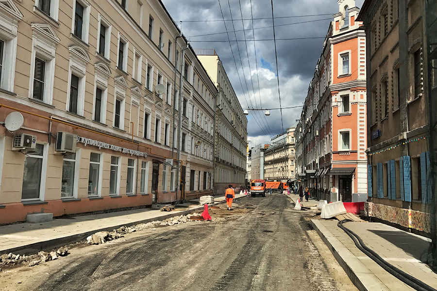 Москва, реконструкция 2017