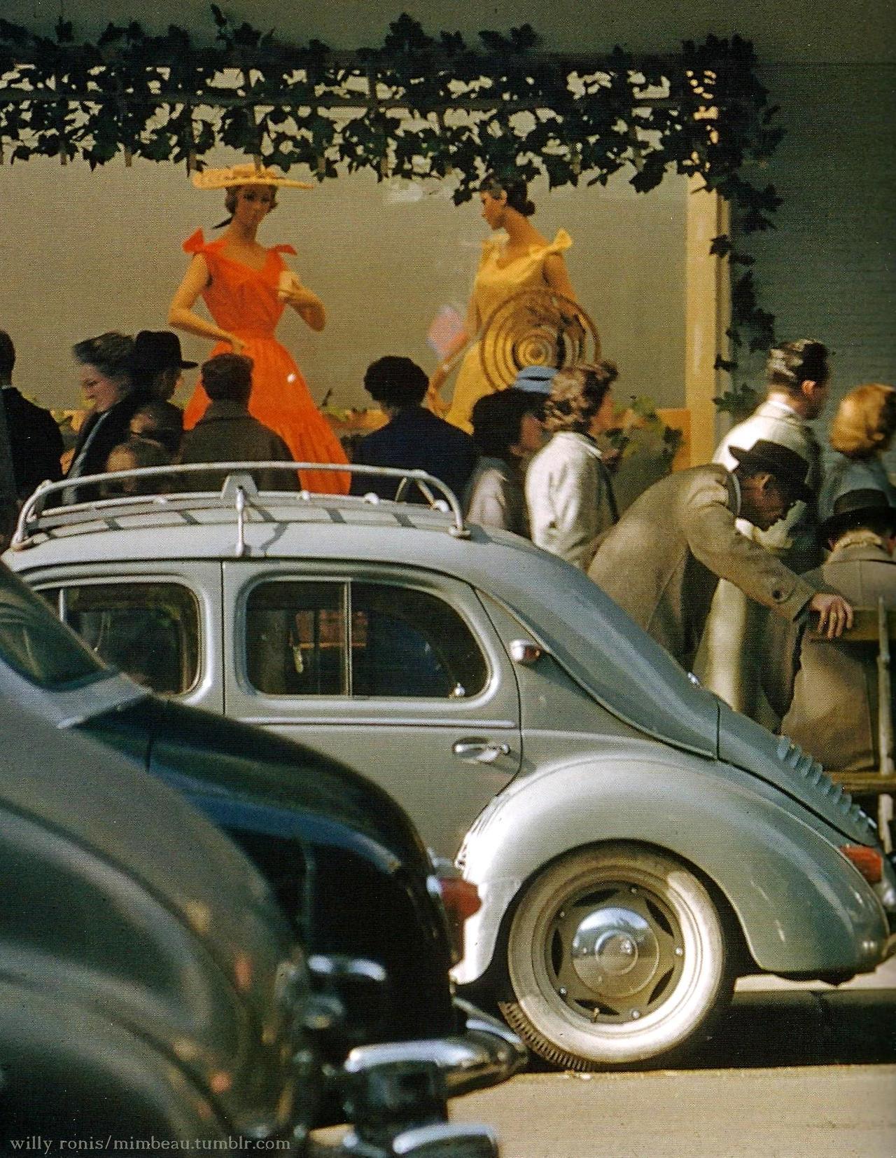1955. Галери Лафайет, Париж