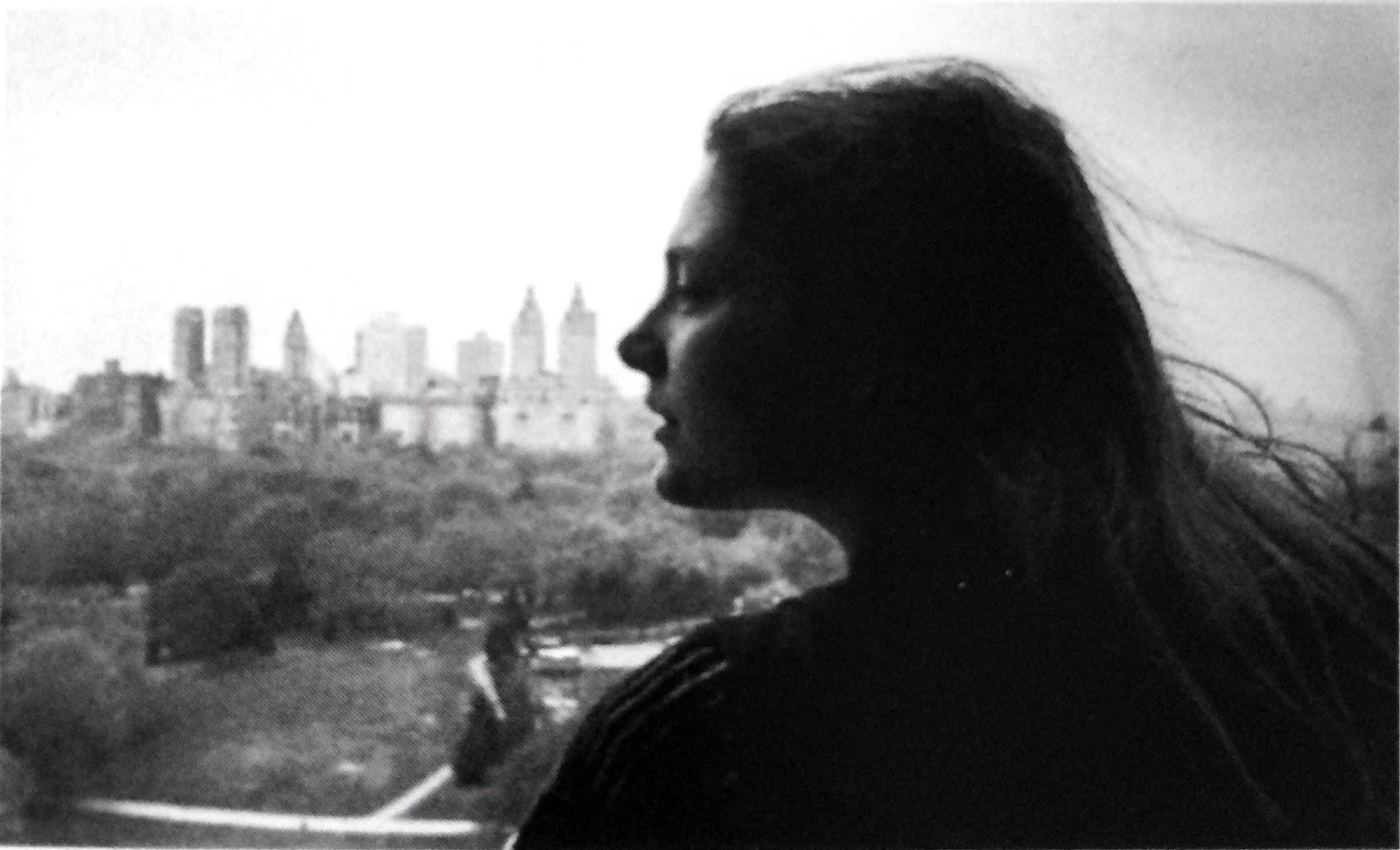 1981. Портрет на фоне Центрального парка. Нью-Йорк