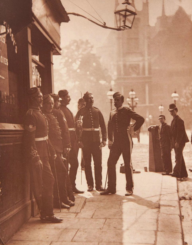 1877. Военные в Вестминстере