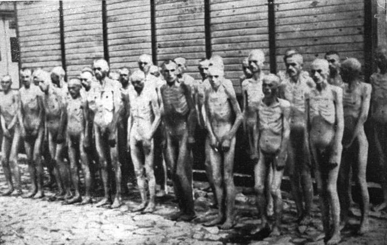Что происходило при освобождении концлагерей. Австрия 1945 г. KZ Mauthausen, Sowjetische Kriegsgefangene