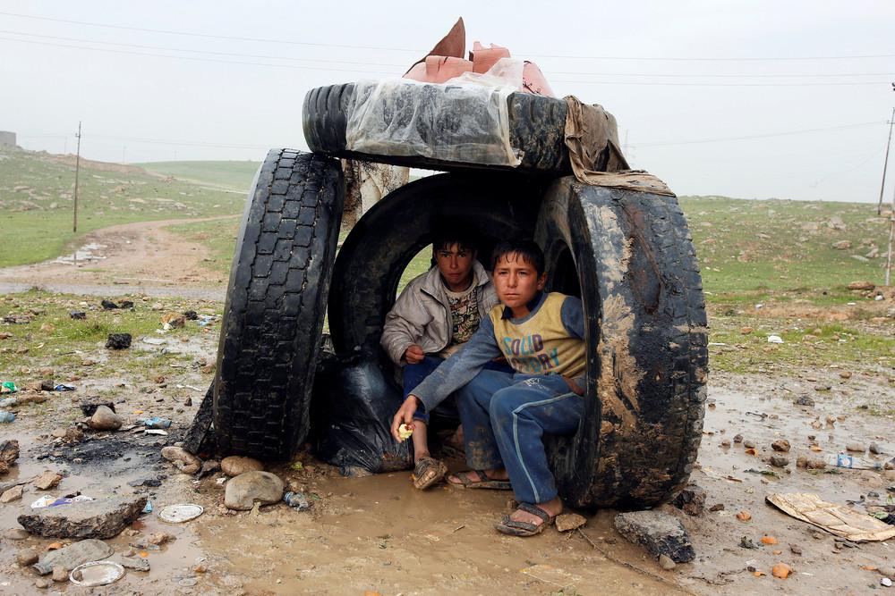 Фото повседневной жизни в Ираке