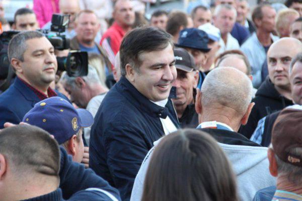 10 сентября украинцы показали властям, что это их страна и их границу – Саакашвили — РНС