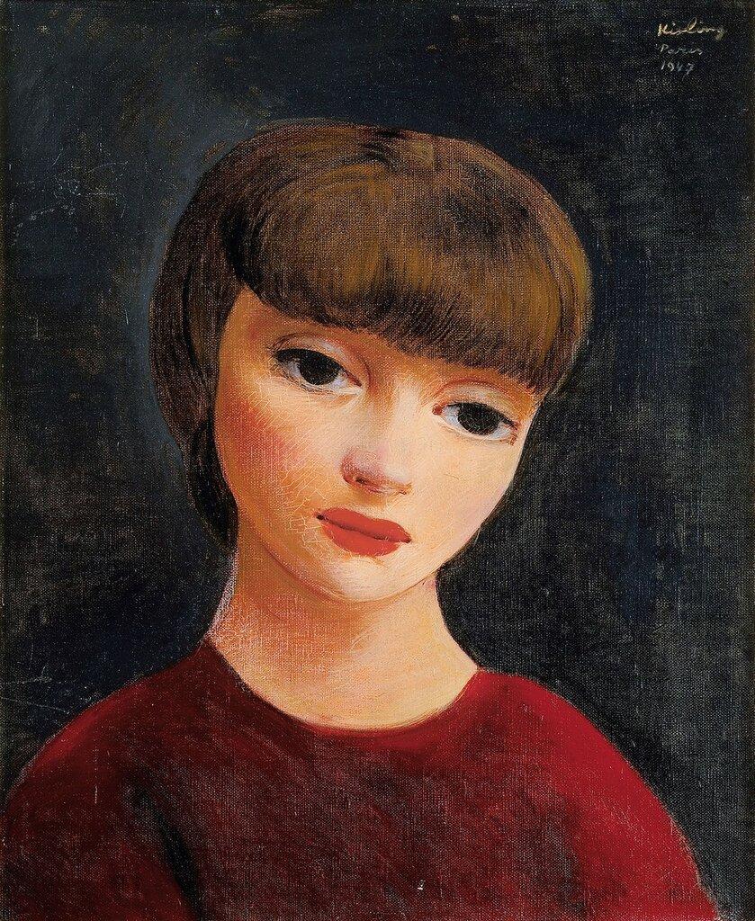 Женский портрет. 1947. 40 х 31 см. масло, холст. Частная коллекция.jpg