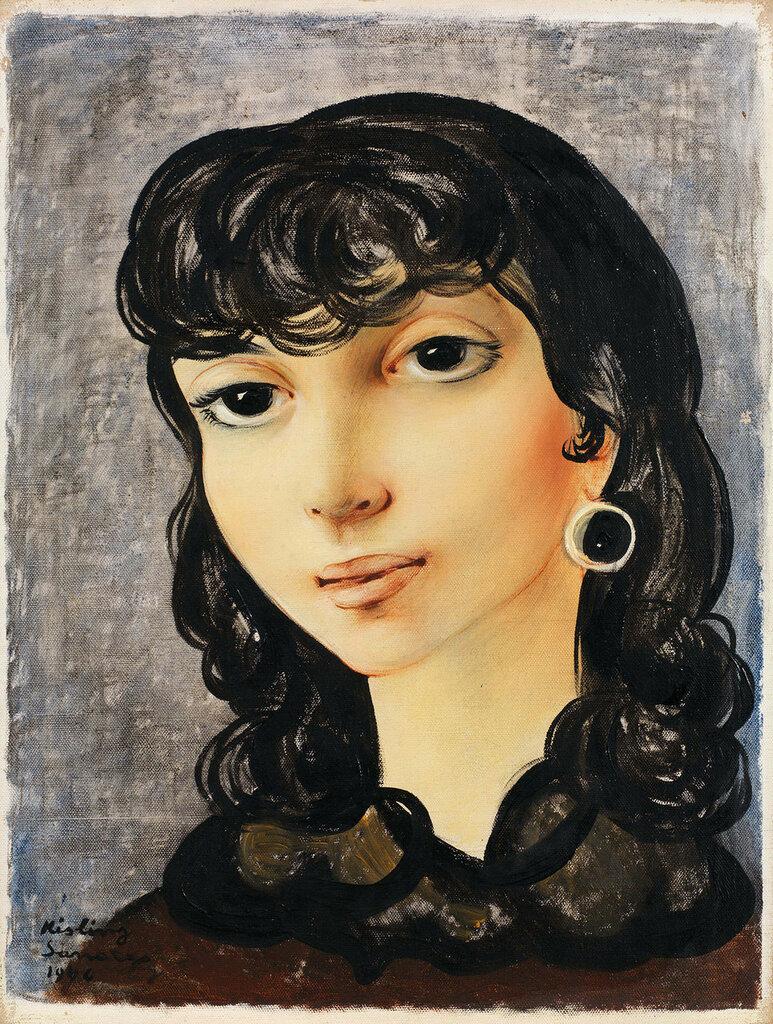 Портрет Josane. 1946. 35,5 x 27 см. масло, холст. Частная коллекция.jpg