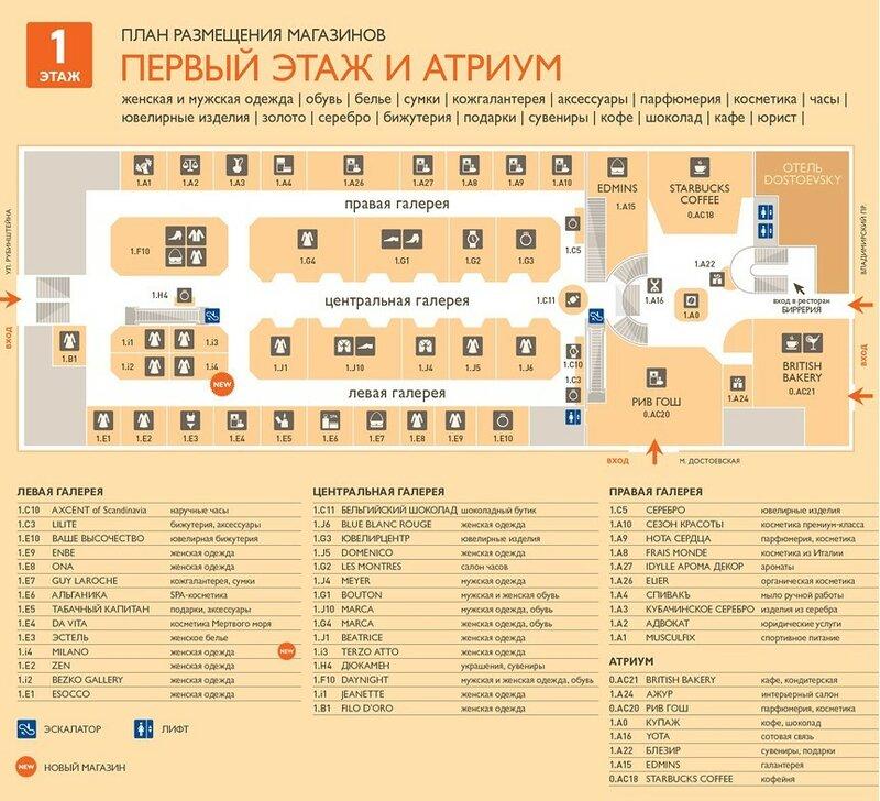 Универмаг Москва Список Магазинов