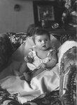 Анна Марли в детстве. Петроград, 1918