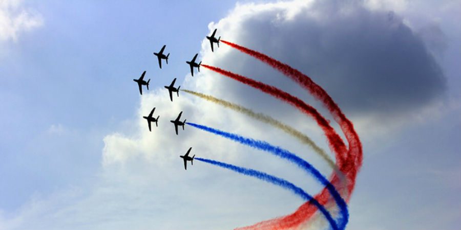 День воздушного флота!