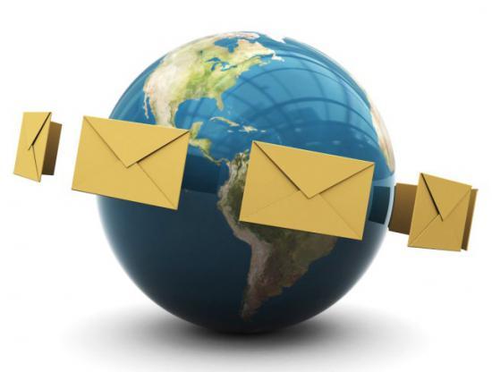 День почты! Письма летят вокруг земли